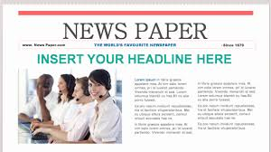 newspaper theme for ppt enchanting newspaper powerpoint templates picture collection