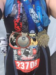 Challenge Around Neck Wars Side Challenge Recap Half Marathon Jess Runs Happy
