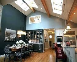 track lighting for vaulted ceilings lighting for vaulted ceilings solutions kitchen lighting vaulted