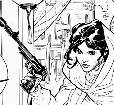 the bombshellter star wars princess leia 2 cover step by step