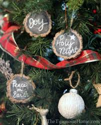farmhouse ornaments diy christmas decorations