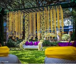 decoration for indian wedding indian wedding decoration idea creative groom outdoor