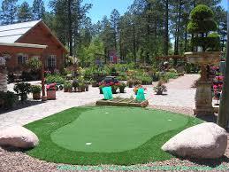 Putting Green In Backyard by Green Lawn Spokane Washington Outdoor Putting Green Backyard Designs