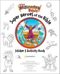 the beginner u0027s bible super heroes of the bible sticker and