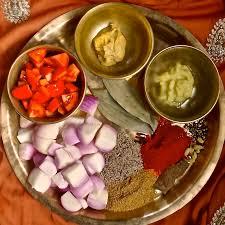 kashmir indian cuisine keep calm curry on kashmiri ghanduh maaz mutton with onions
