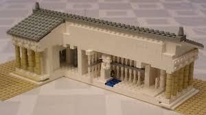 Parthenon Interior Parthenon In Lego