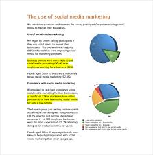 sample marketing report templete ci dashboards click to zoom