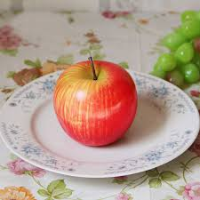 Kitchen Apple Decor by Red Yellow Apples Kitchen Fruit Home Decor Faux Fake Theater Props