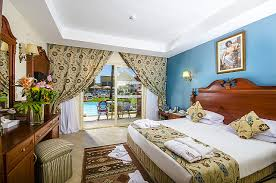 Bedroom Side View by Titanic Palace