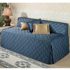 Daybed Mattress Cover Furniture Dark Blue Linen Daybed Mattress Cover For Your