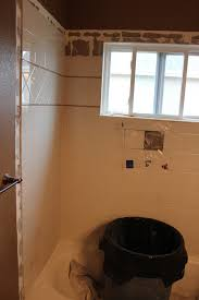 How To Tile A Bathroom Shower Wall To Remove Tiled Shower Walls