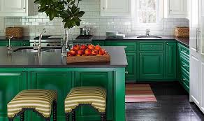 Designers Share Their Favorite Paint Colors For Green Kitchens - Green kitchen table