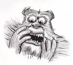 sully monsters pencil bobo1972 deviantart