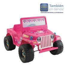 barbie jeep power wheels walmart online jeep barbie lil wrangle power wheels 1 495