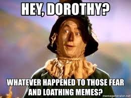 Whatever Memes - hey dorothy whatever happened to those fear and loathing memes
