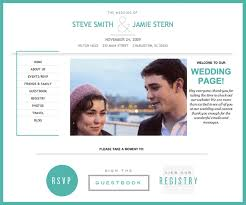 registry wedding website personal wedding websites all things imagined weddings