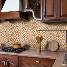 cool natural stone backsplash tile cabinet hardware room