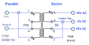 soldermans basic electronics transformers series and parallel