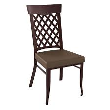 wicker modern dining chair by amisco collectic home