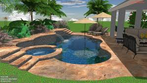 Pool Ideas For Backyard 3d Swimming Pool Design Sanford Clermont Orlando Pool Studio