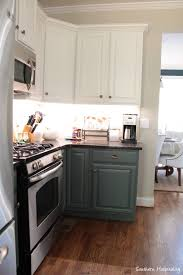 Can We Paint Kitchen Cabinets Our Painted Kitchen Cabinets Southern Hospitality