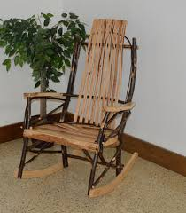 The Best Rocking Chair Rustic Hickory 9 Slat Rocker Review Best Rocking Chairs