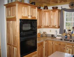 rustic kitchen cabinet ideas cabinet beautiful hickory cabinets design rustic kitchen
