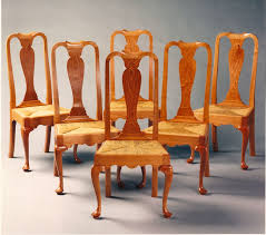 Queen Anne Armchair Hand Crafted Queen Anne Dining Room Chairs By Paula Garbarino
