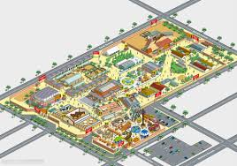 Studio City Map Rod Hunt Illustration Studio Illustration And Maps Portfolios