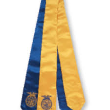 sashes for graduation embroidered ffa graduation sash from ffa org things i want as