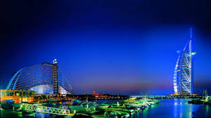 hotel dubai burj al arab night hd wallpaper of city