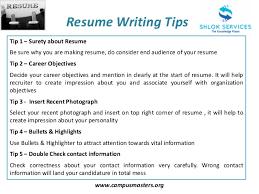 About Resume Writing Resume Writing Tips
