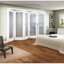 Jeld Wen Room Divider Jeld Wen 5 Door Shaker White Primed 1 Lite Obscure Glazed Roomfold