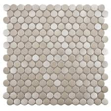 Best 25 Penny Round Tiles by Merola Tile Comet Penny Round Luna 11 1 4 In X 11 3 4 In X 9 Mm