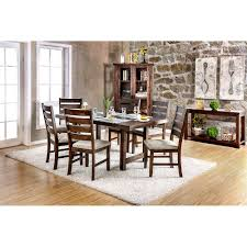 wallis transitional dining table