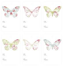 4 best images of free printable butterfly gift tags butterfly