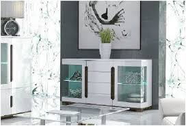 White Gloss Sideboards Costa White Gloss Sideboard Glass Door P9rxls32 Amos Mann Furniture