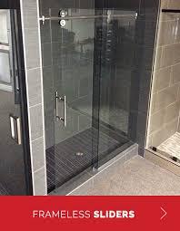 Frameless Slider Shower Doors Shower Door All We Do Is Frameless Shower Doors