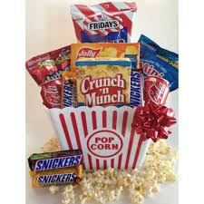 popcorn baskets snack attack popcorn gift basket crafts popcorn