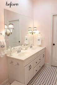 Pink Bathroom Ideas Pink Bathroom Built In Storage Shelving Near Freestanding Bathtub
