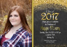 graduation invite glitter graduation invitations black and gold graduation