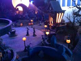 hawthorne village halloween nightmare before christmas village x mas