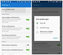 app updates android how to stop samsung apps from auto updating androidpit