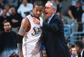 Larry Allen Bench Press Si Vault How Allen Iverson Larry Brown Learned To Live Together