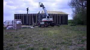 soubassement bois kit construction d u0027une maison bois ami bois youtube