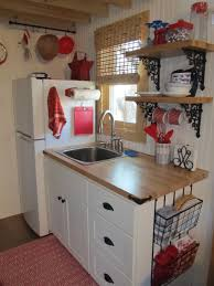 Compact Kitchen Ideas Ranch Guest House A Small Home With A 288 Square Feet Footprint