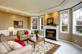 Living Room Wallpaper Gallery Photos Living Room Room Interior Fireplace Table Carpet Armchair