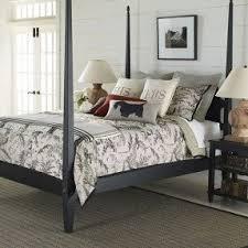 black four poster bed foter