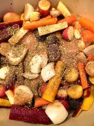 Oven Roasted Root Vegetables Balsamic - dutch oven balsamic chicken and vegetables zesty olive simple