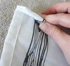 How To Make Curtains Hang Straight How To Perfectly Hem Curtains